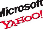 Microsoft y Yahoo!